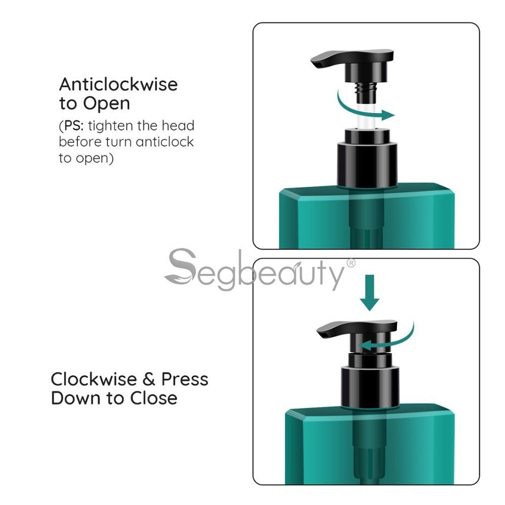 Segbeauty 3шт% 2Fset 200 мл многоразового использования шампунь дозатор бутылка ванная комната мыло бутылка помпа пресс лосьон тело душ гель контейнеры