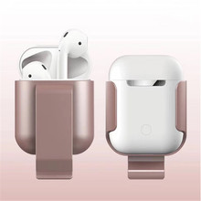 Convenient Wireless Bluetooth Airpods Protective case General AirPods1 2 cute headset chassis