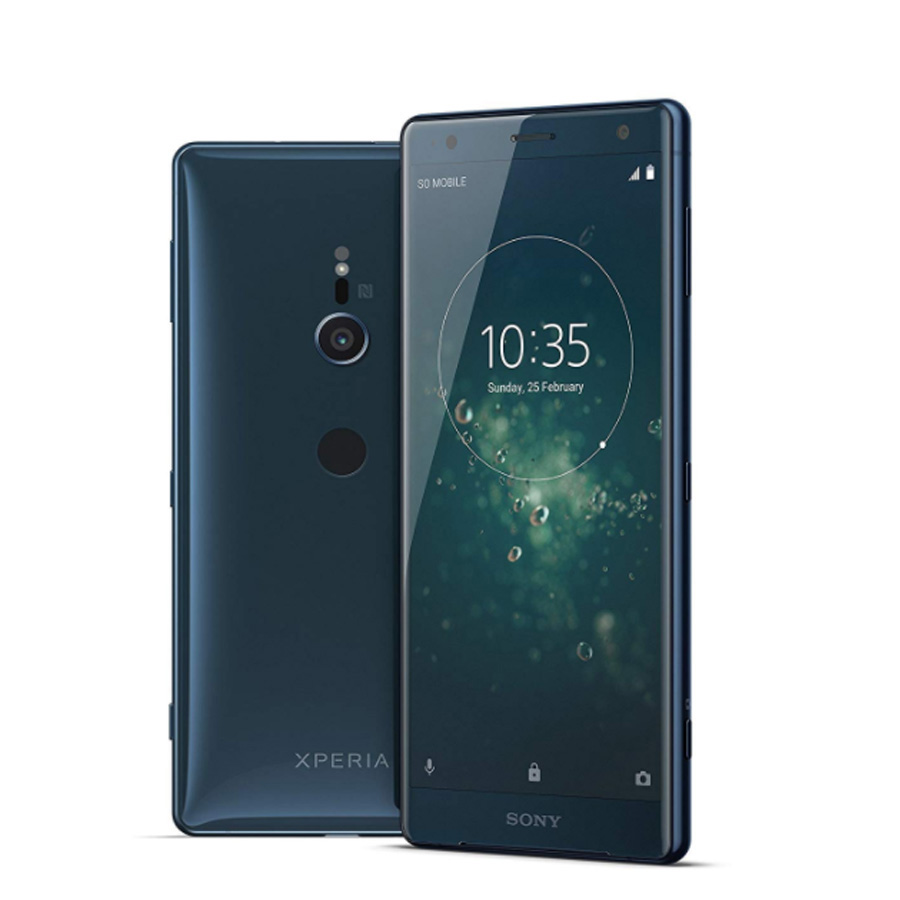 New Original 5.7 Inch Sony Xperia XZ2 H8266 4GB 64GB Mobile Phone Dual SIM Snapdragon 845 Octa Core 4G Android NFC SmartPhone