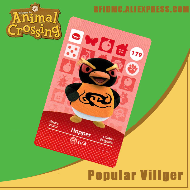 179 Hopper Animal Crossing Card Amiibo For New Horizons