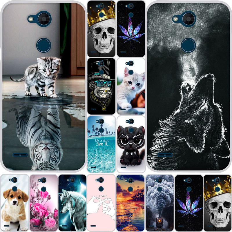 Case For LG Xpower 3 Case Silicone Soft TPU Transparent Cover Printed Painted Phone Back Cover For LG X5 2018 Case Cover Fundas