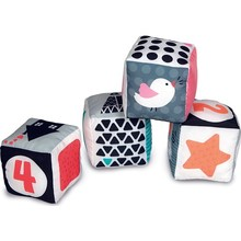 Baby Clementoni-Soft Baby Cubes S/B