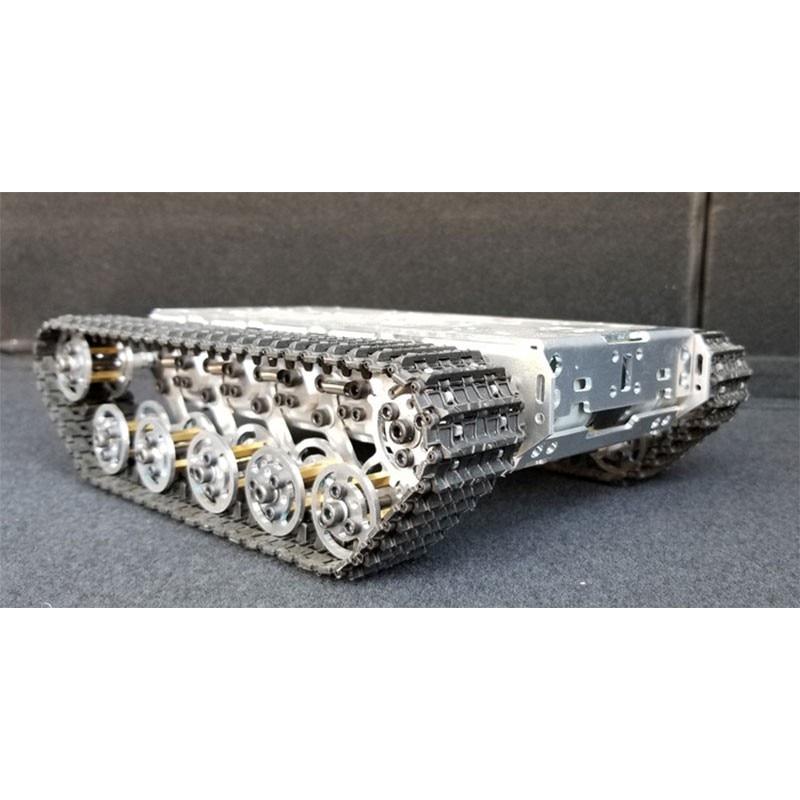 T300 RC chasis de tanque de Metal rastreado Robot chasis Robot inteligente chasis de coche de absorción de choque desmontado Caja de cambio creativo, Caja de Seguro para libro, Caja de Seguro para libro de simulación creativo europeo, Mini tanque de almacenamiento seguro
