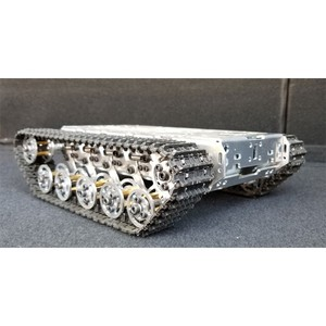 T300 RC Tank Chassis Metal Tra
