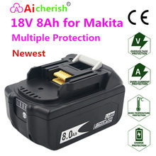 18V Makita BL1830 BL1840 BL185 utilizzare l'ultima versione della batteria ricaricabile agli ioni di litio 18V 8ah 18V DC18RC DC18SF Li-ion CE