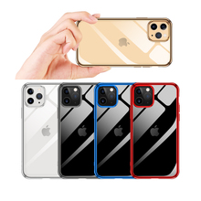 Ultra Thin Clear Plating Phone Case For iPhone 11 Pro Max Case For iPhone 11 Pro Max Case Plus Soft TPU Transparent Back Cover case for iphone 11 pro max soft tpu case ultra thin bumper case for iphone 11 pro case cover frosted shockproof covers