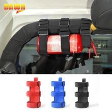 BAWA Fire Extinguisher Holder Adjustable Extinguisher Mount Strap   for Jeep Wrangler TJ JK JL 1997+ Car Interior Products