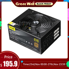 Fan Power-Supply Gaming 80plus 1000w PSU PC Source ATX Great-Wall Gold APFC 12V for 140mm