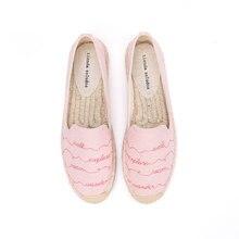 2020 Rushed Hot Sale Hemp Sapatos Zapatillas Mujer Tienda Soludos Womens