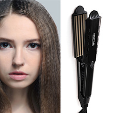 Professional Hair Heating wave hair straighteners Fast Warm-up Crimper Wave Iro curler corrugated Iron styling tools