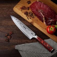8 pulgadas Damasco chef cuchilla cuchillo rebanador cocina cuchillo occidental cocina cuchillo hogar cocina cuchillo chef knife paulina cocina paulina cocina en 30 minutos
