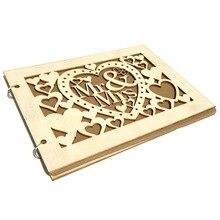 40 страниц, деревянные украшения, подписные гостевые книги ручной работы, Mr& Mrs Love, Свадебная Гостевая книга, деревянная сделай сам, подписная книга для входа