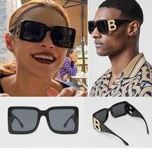 Negro De talla grande Gafas de sol De las mujeres De la marca 2020 nuevo con tonos marco grande Do Vintage gradiente, gafas de