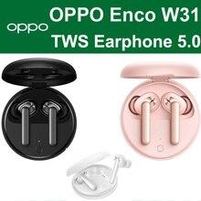 OPPO Enco W31 TWS auricolare Bluetooth 5.0 auricolari Wireless a bassa latenza 25mAh IPX4 per trovare X2 X2 Pro RENO ACE 2 3