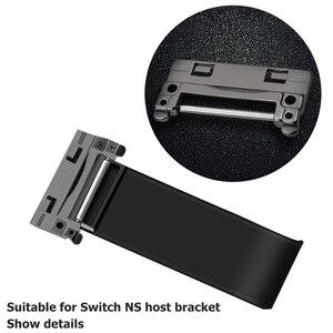 Image 2 - Alloyseed reparação/substituição parte host voltar escudo kickstand suporte kit para nintend switch game console ns