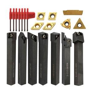 Lathe Turning Tool Lathe Tools Holder Solid Carbide Inserts Holder Boring Bar Lathe Cutter Metal Turning Rod Industrial(China)