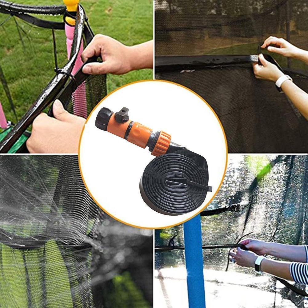 Sommer Garten Trampolin Sprinkler Outdoor Kühlung Park Spray Haus Hof Bewässerung Wasser Sprinkler Spielzeug N9J2