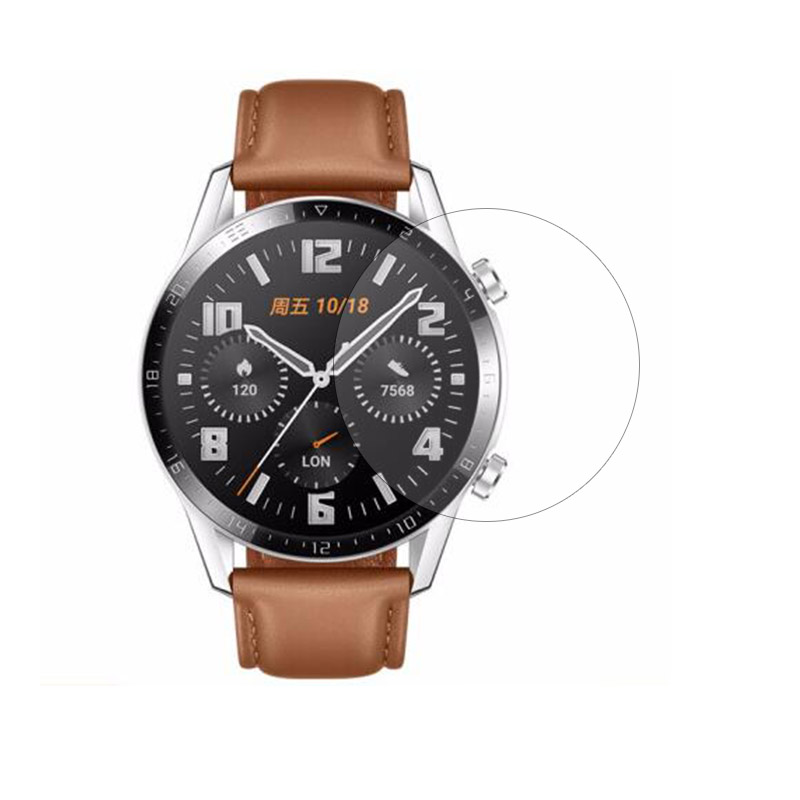 Tempered Glass Clear Protective Film For Huawei Watch GT 2 Active / Elegant GT2 42MM 46MM Smartwatch Full Screen Protector Cover
