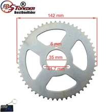 Sprocket 49cc Scooter T8F Rear-Chain Quad-Goped Mini Moto Tooth 54 35mm Steel STONEDER