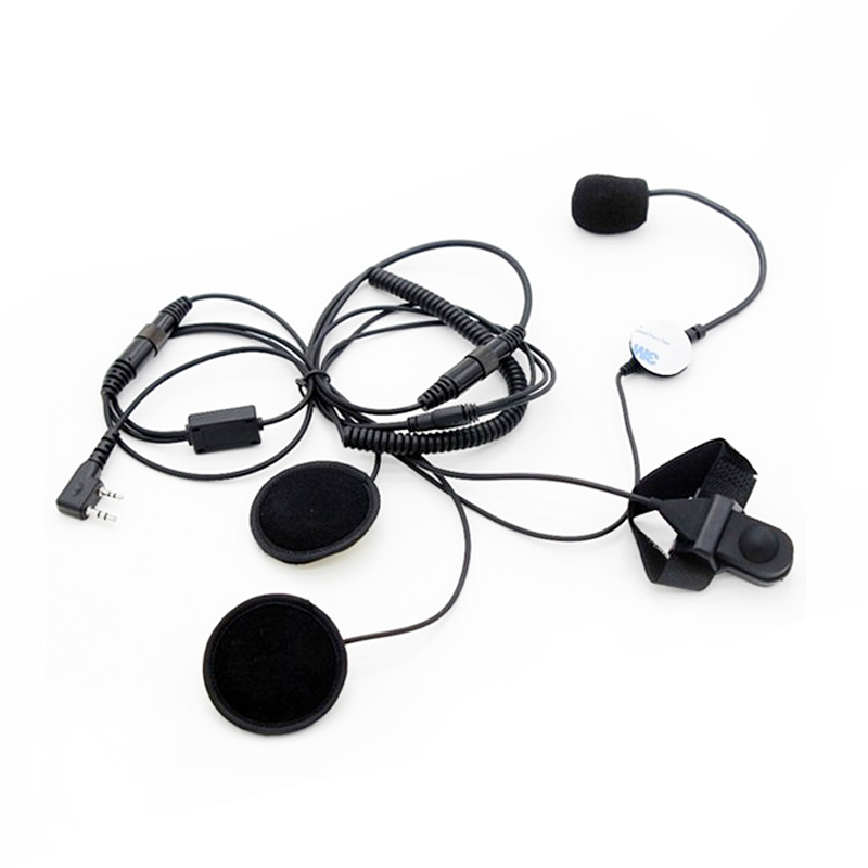 10pcs wired Air tube earpiece for BAOFENG 5R Radio UV-5R kenwood Walkie From US