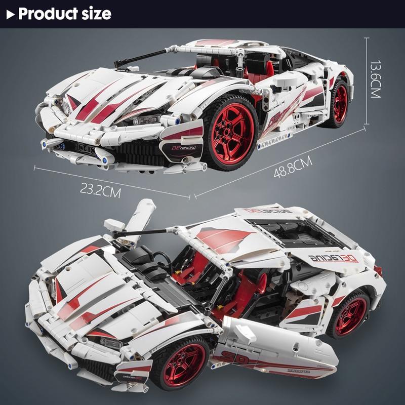 Cada Electric Remote Control Sports Car 1696Pcs