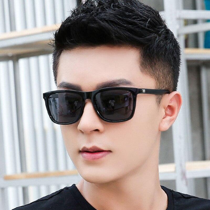 Fashion Square Sunglasses men Brand Designer fishing Driving Male Sun Glasses UV400 Protection Shades oculos de sol