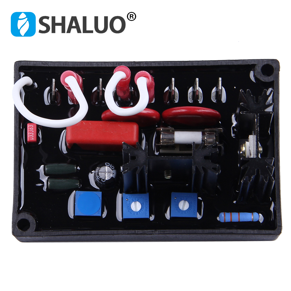 Basler AVR AC Diesel Generator Automatic Voltage Regulator power supply 220V single phase replace original Stabilizer AVC63-4