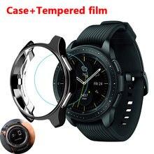 Чехол для samsung galaxy watch 46 мм 42 gear s3 frontier чехол