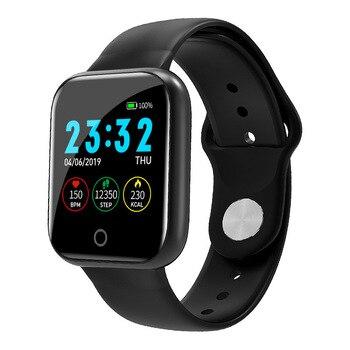 I5 para Apple Watch podómetro Control de música varias esferas ritmo cardíaco Fitness Smartwatch hombres mujeres Android IOS