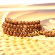 Genuine natural palm fruit kukka natural color muslim rosary 100 beads handmade DIY moire pattern tesbih muslim