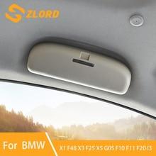 جديد سيارة حامل نظارات شمسية نظارات شمسية مربع علبة نظارات ل BMW X1 F48 X3 F25 X5 G05 F10 F11 F20 I3 اكسسوارات