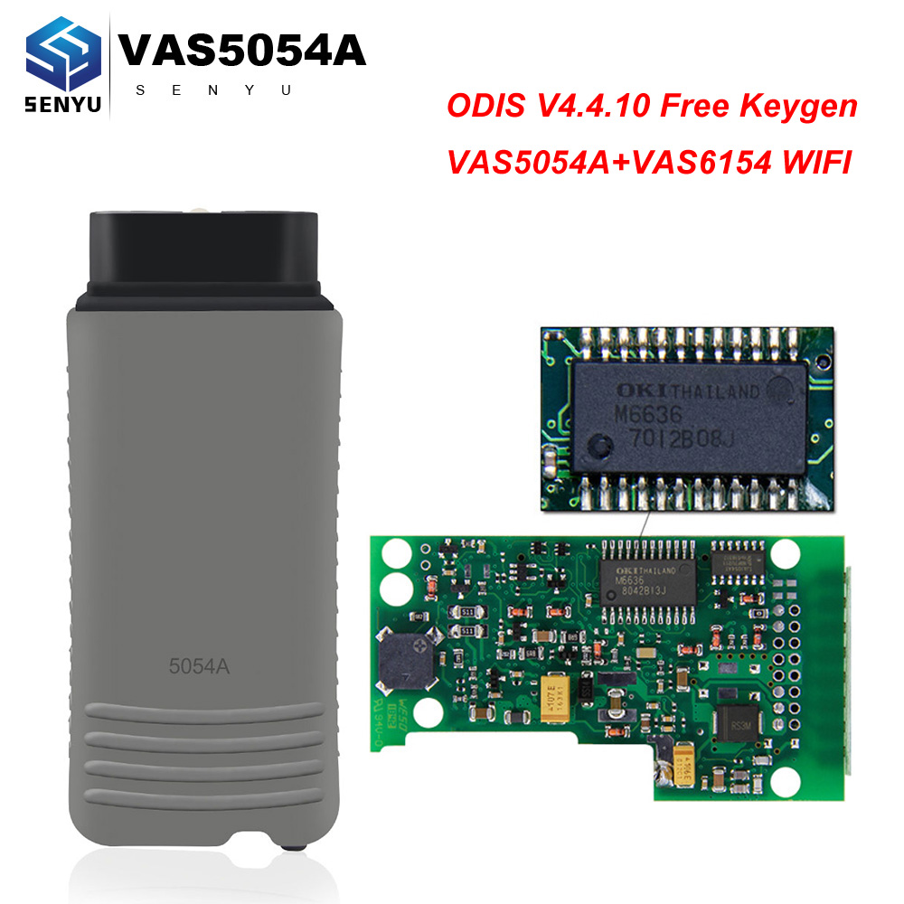 VAS5054A Original OKI Full ODIS For VAG VAS 5054A 6154 OBD2 Bluetooth WIFI Scanner VAS6154 OBD 2 OBD2 Car Diagnostic Auto Tool-in Code Readers & Scan Tools from Automobiles & Motorcycles on