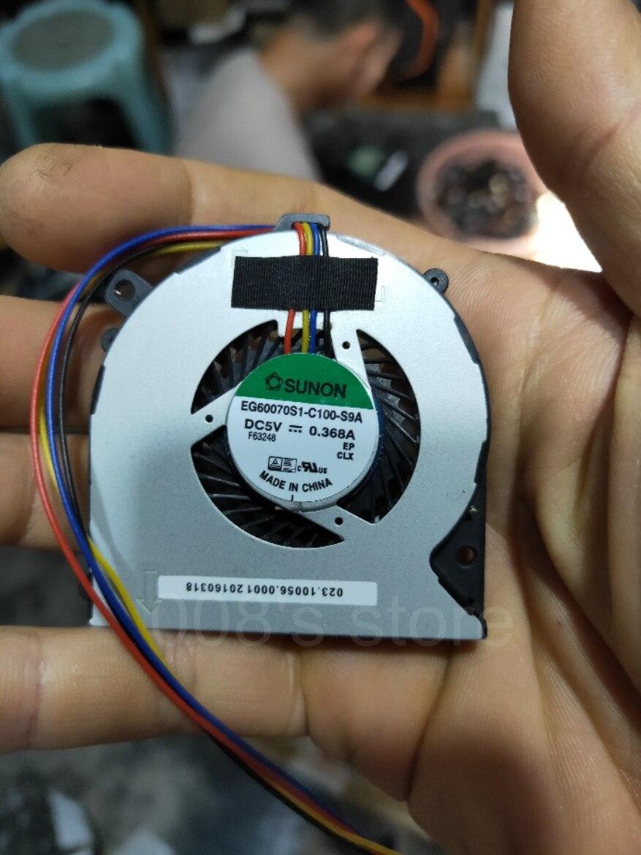 New CPU Cooling Cooler Fan For HP 260 G1 G2 DM PC Laptop SUNON EG60070S1-C100-S9A DC 5V 0.368A F63248 795307-001
