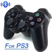 Gamepad kablosuz Bluetooth Joystick PS3 denetleyici kablosuz konsol Playstation 3 oyun pedi Joypad oyun aksesuarları