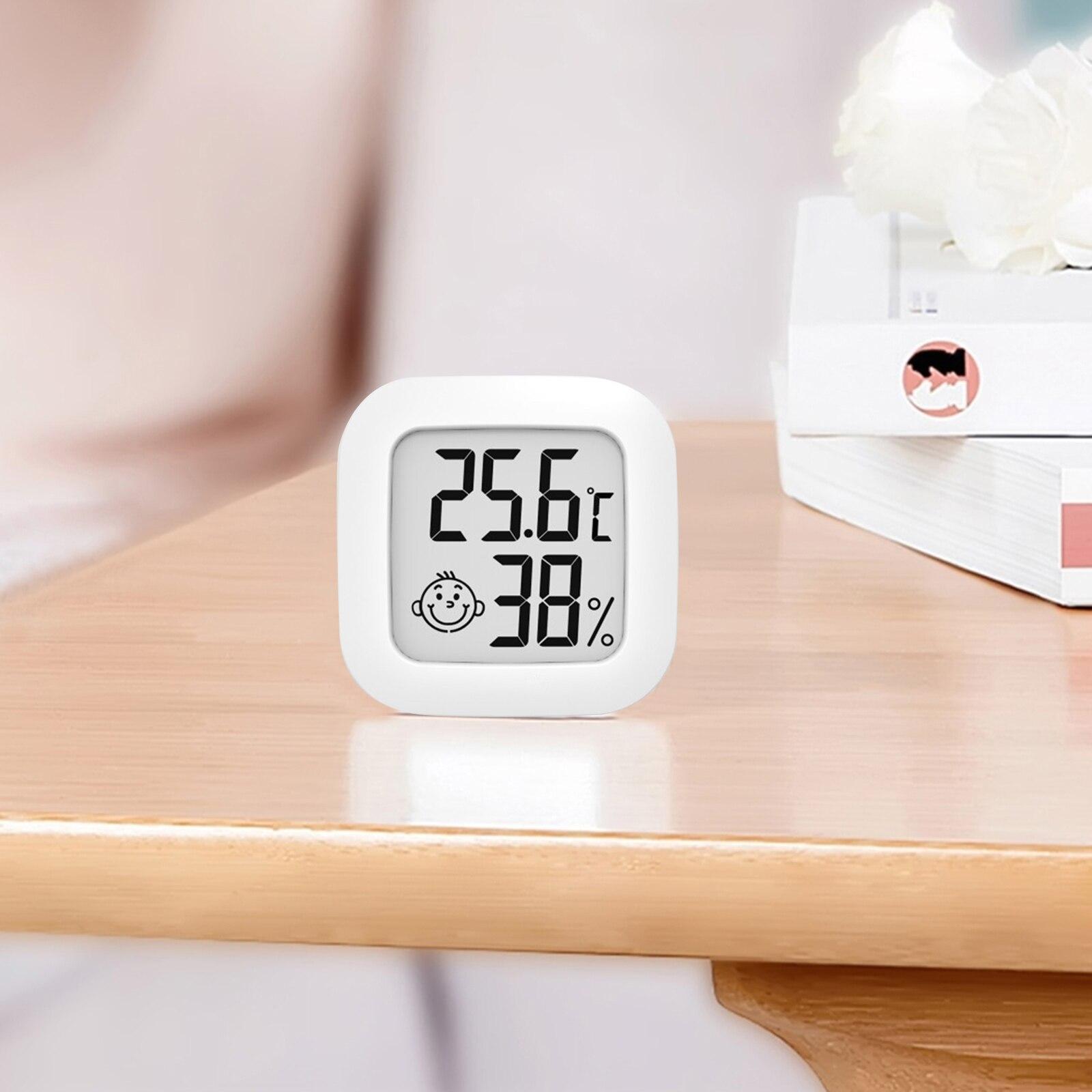 Цифровой гигротермограф, мини-измеритель температуры с легкой установкой