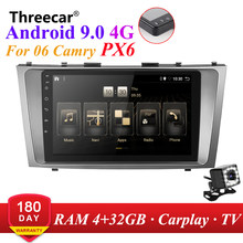 PX6 Android 9.0 DSP Auto Radio Für toyota camry 2007 2008 2009-2011 Multimedia Video Player Navigation GPS wifi 4G 2din kopf einheit(China)