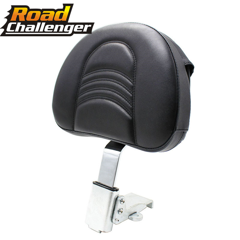 Motorcycle Adjustable Plug-In Driver Rider Backrest Kit For Victory 10-17 Cross Country Magnum Hard-Ball Cross Roads