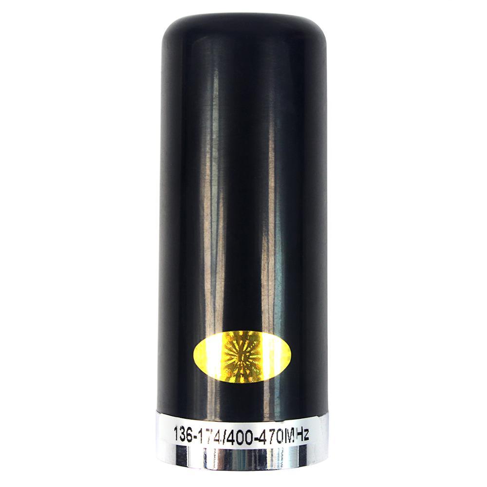 Mini Short Dual Band Antenna Aerial HH-N2RS Mobile/Vehicle Radio Antenna Black VHF/UHF J6475A