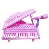 Genuine Buddyfun Mini Model Children's Musical Instruments Electronic Keyboard GIRL'S with Microphone Early Education wan ju qin