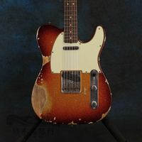 new arrival sunburst relics by hand electric guitar ,Chinese factory electric guitar , high qulity guitar , some free shipping