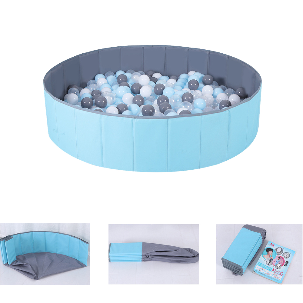 Kids Safety Barrier Children Play Game Fence Toy Sand Pool Baby Indoor Outdoor Playground Ocean Ball Pool Folding Playpen Kids