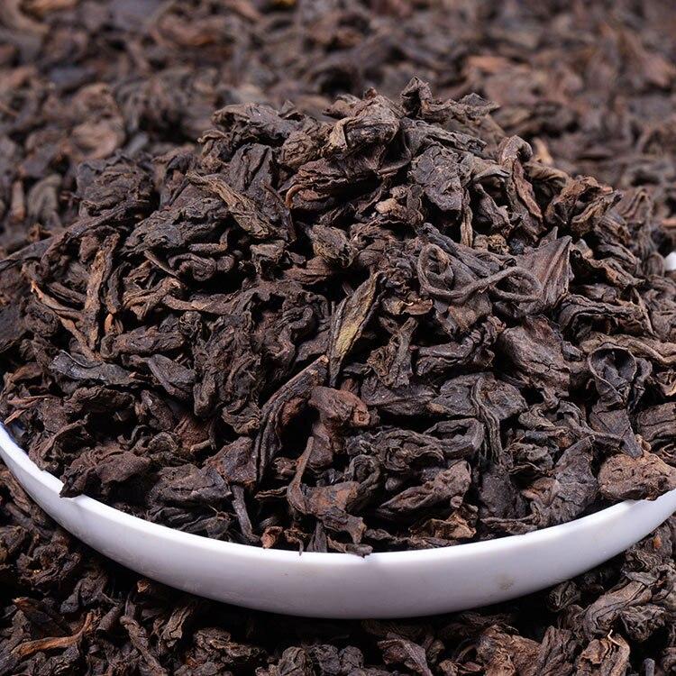 250g Chinese Yunnan Loose Pu'er Tea Promotion Top Grade Health Care Tea Ripe Pu'er Tea Natural Organic