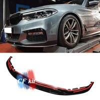CF Kit ABS/Carbon Faser MP Stil Stoßstange Für BMW 5 Series G30 G31 Front Lip Spoiler Auto Styling-in Stoßstangen aus Kraftfahrzeuge und Motorräder bei