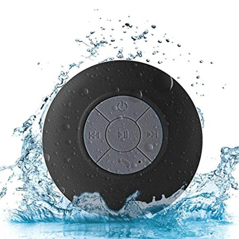 Mini Bluetooth Speaker Portable Waterproof Wireless Handsfree Speakers, For Showers, Bathroom, Pool, Car, Beach & Outdo 1