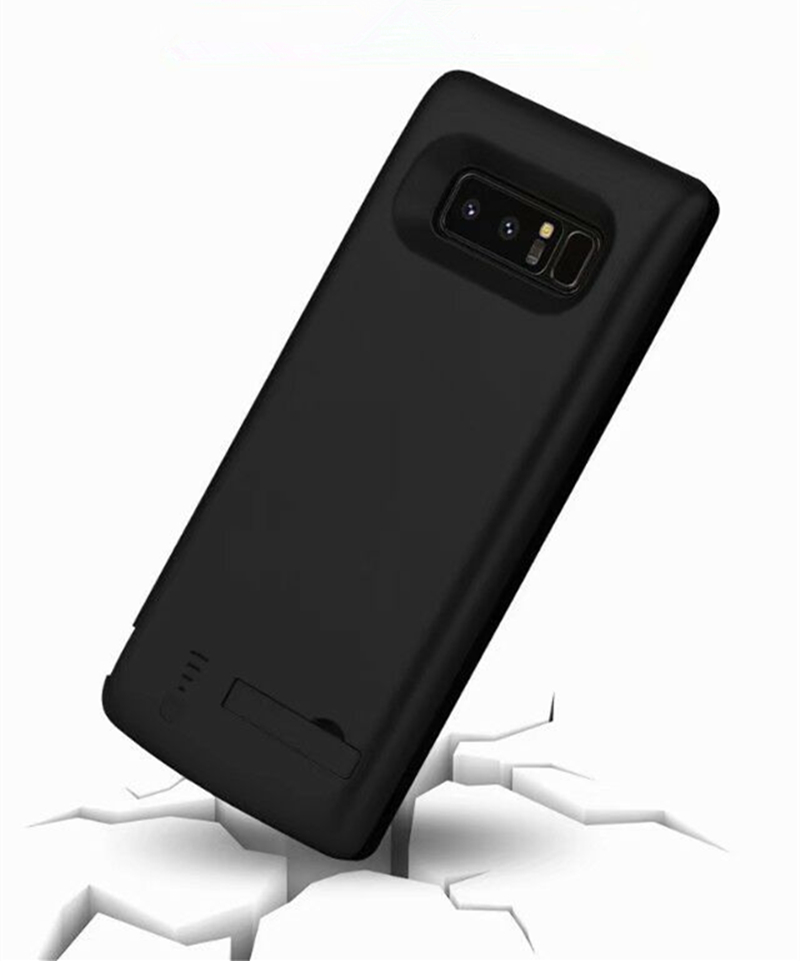 Extended Phone Battery Power Case 5000mAh Portable Cover Battery Charger Case For Samsung Galaxy S8 External Power Bank Case in Battery Charger Cases from Cellphones Telecommunications