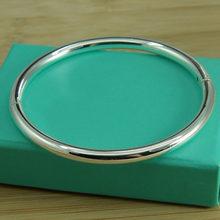 Srebrna bransoletka – Bracelet en argent 925 pour femme, bijou Vintage à la mode