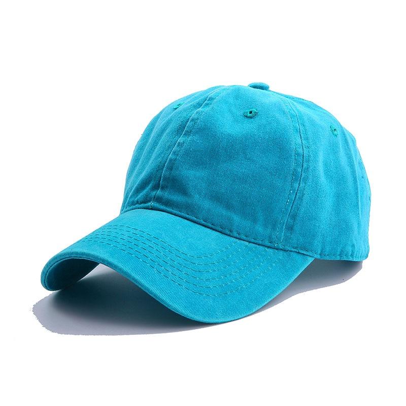 Solid Spring Summer Cap Women Ponytail Baseball Cap Fashion Hats Men Baseball Cap Cotton Outdoor Simple Vintag Visor Casual Cap 9