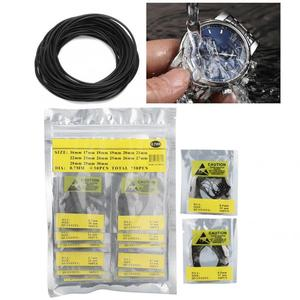 500pcs/bag O Ring Rubber Seal Watch Back Cover Seal Gaskets Watch Repairing Tool High Quality Watch Tool Kit For Watchmaker Tool