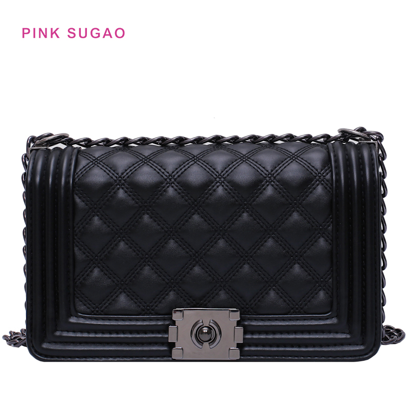 Pink Sugao crossbody bags for women designer purses and handbags luxury handbags women bags designer chain bag multi color new