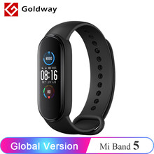Globale Version Xiaomi Mi Band 5 Smart Armband 4 Farbe Bildschirm Smart Band Bluetooth Sport Fitness Traker Fitness Traker Smartband